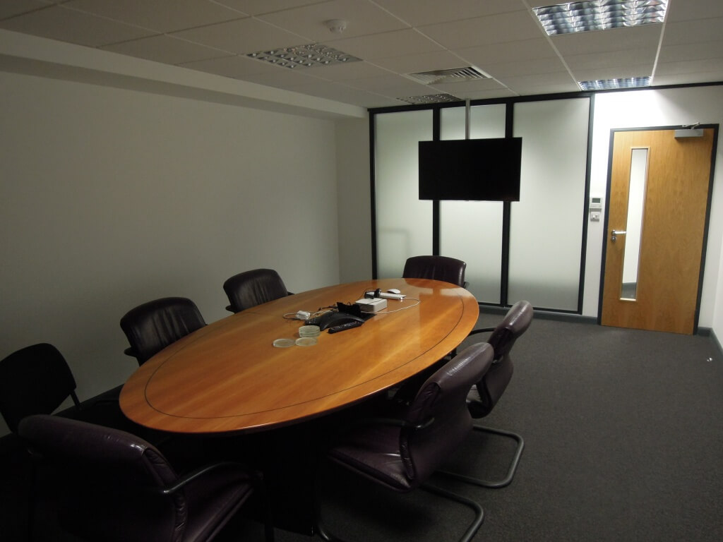completed office