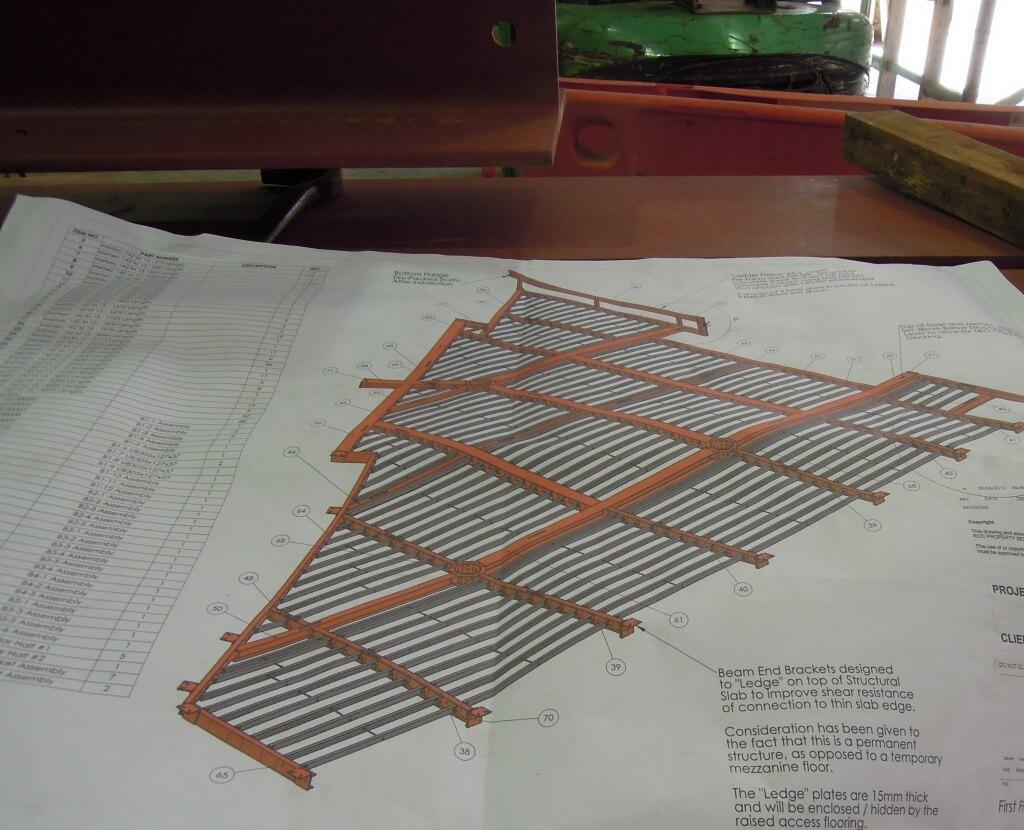 design of suspended floor
