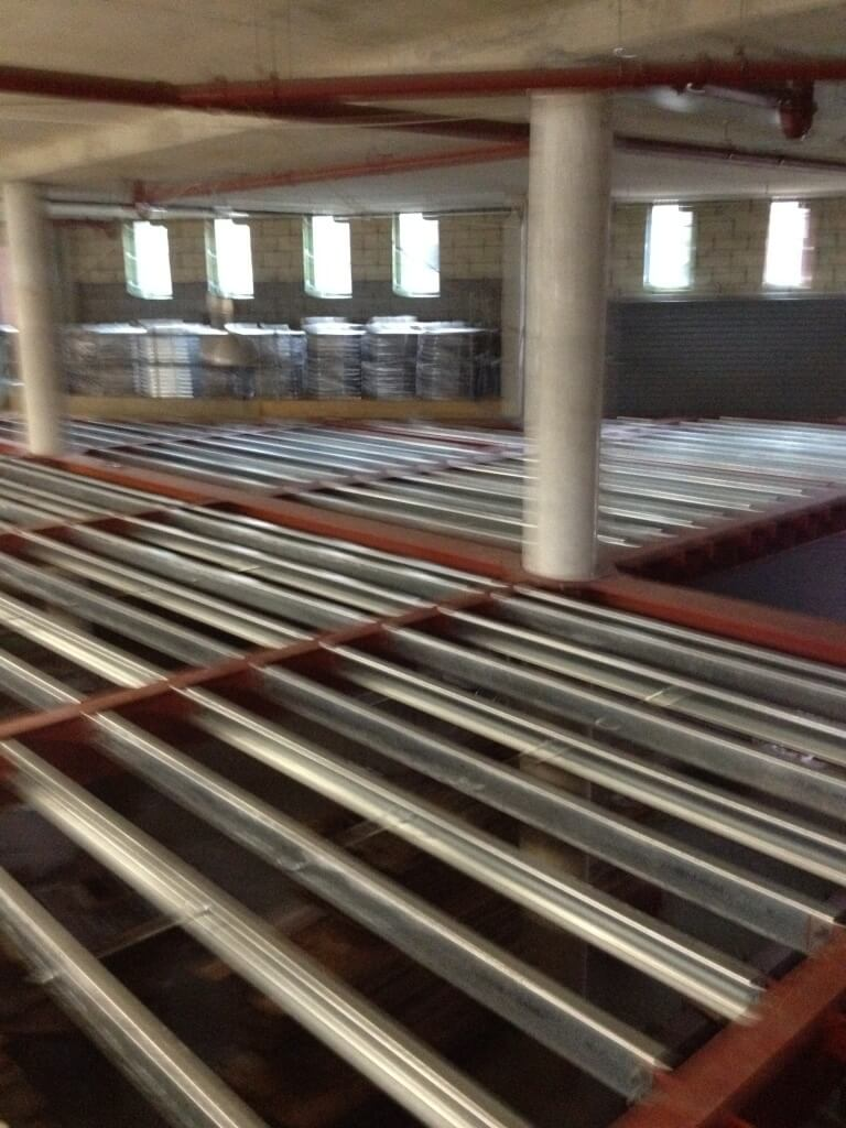 instalation of floor