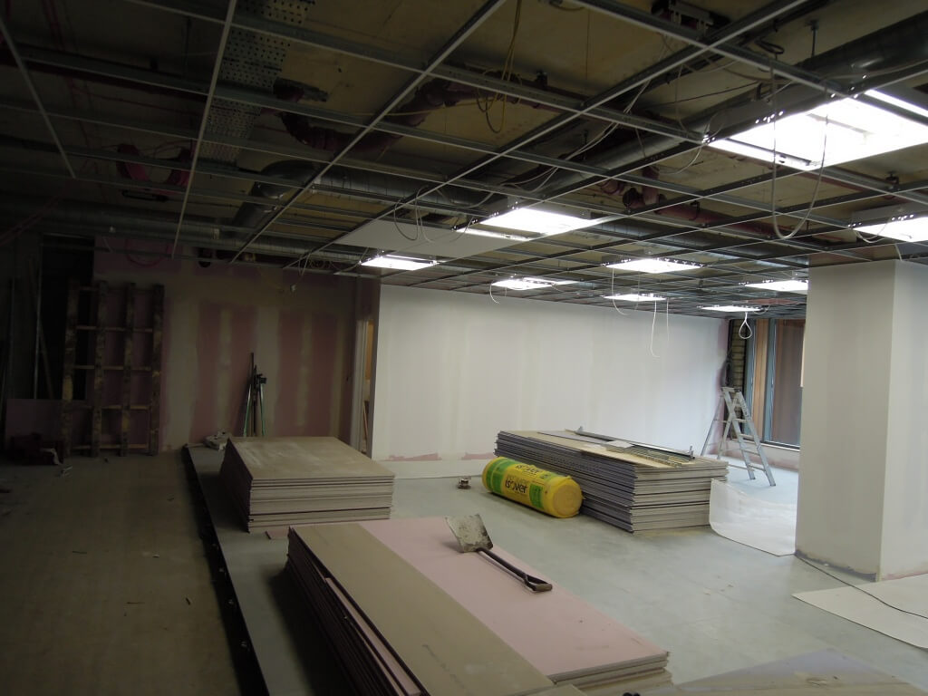 progress of fit out