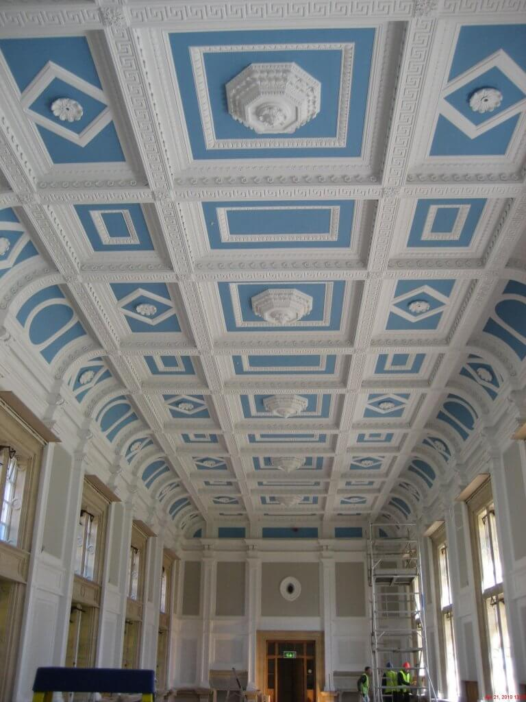 ceiling inside page