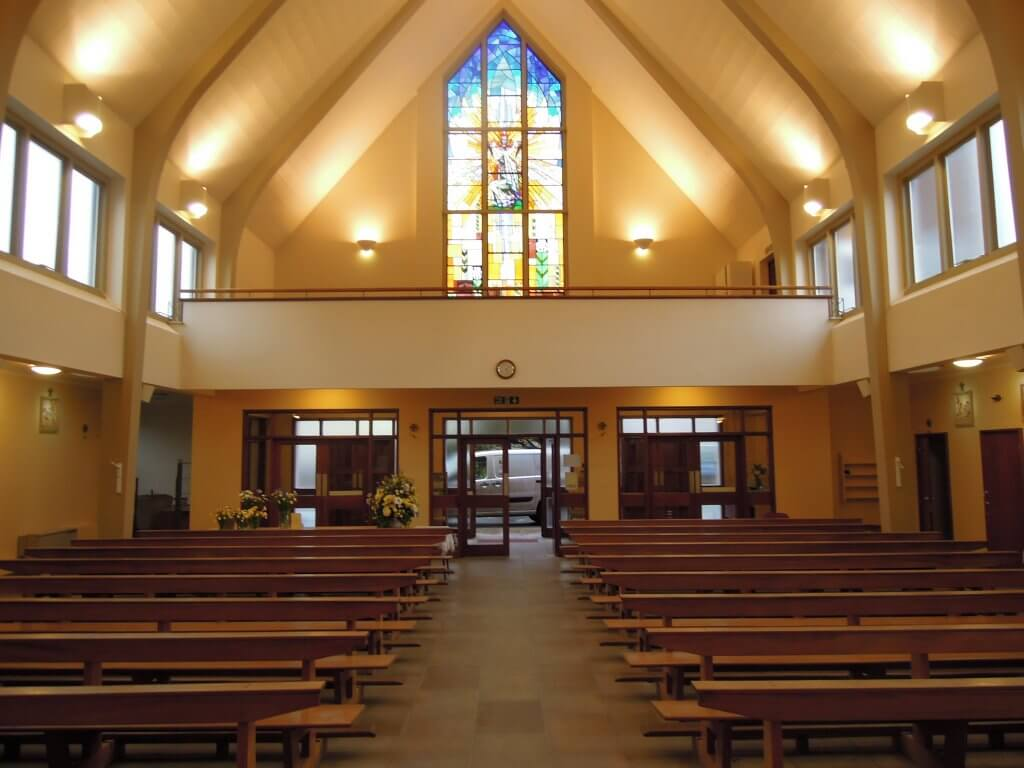 recent church redecoration